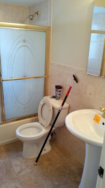 Pre-remodeled bathroom Ocean County NJ short sale