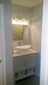 Howell NJ Bathroom Renovation – Vanity Area After