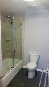 Howell NJ Bathroom Renovation – Shower Area After