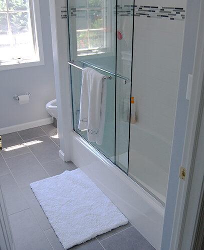 Wall NJ Bathroom Remodel After - Shower