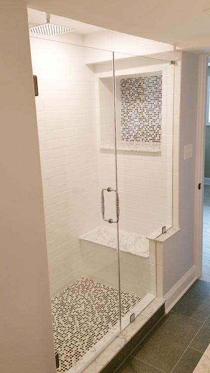 Basement Shower in Marlboro NJ by Rasinski Construction