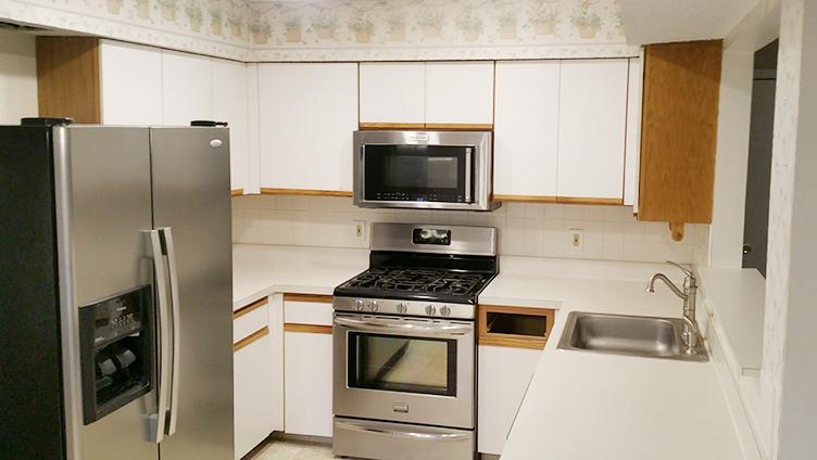 Brick NJ Kitchen Before Rasinski Construction Remodel Photo