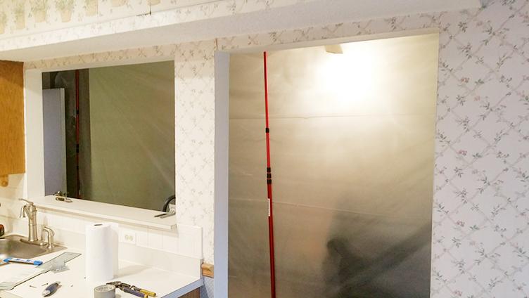 Brick NJ Kitchen Before Rasinski Construction Renovation Photo