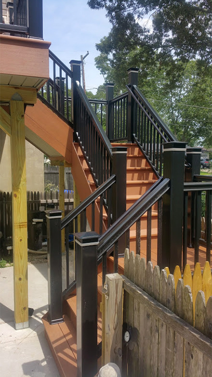 Deck Stairs in Brick NJ by Rasinski Construction