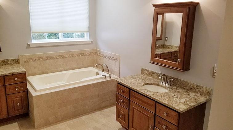 Barnegat Township Bathroom Remodel by Rasinski Construction