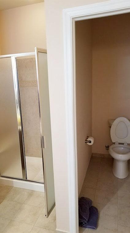 Barnegat Township Shower Before Bathroom Remodel