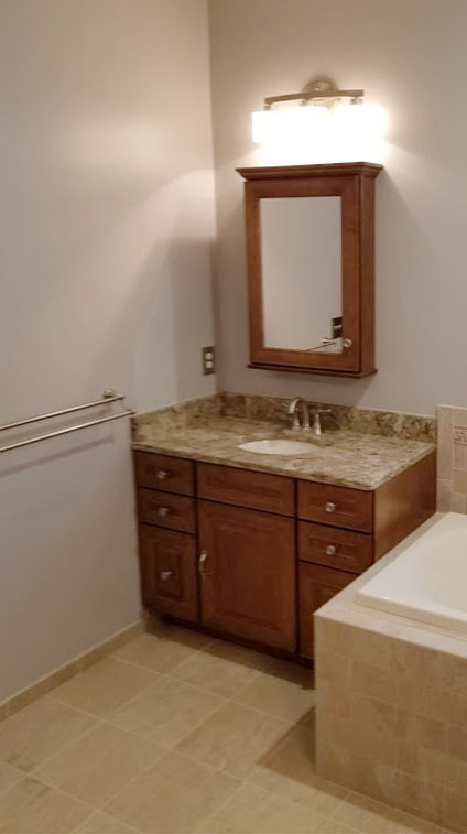 Bathroom Remodel by Rasinski Construction