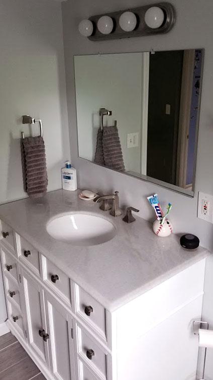 Jackson NJ Bathroom Remodel Photo 2 by Rasinski Construction