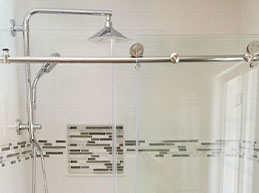 Master Bathroom Shower Before and After - Remodeling by Rasinski Construction