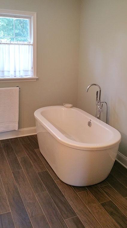 Master Bathroom Tub - Remodeling by Rasinski Construction