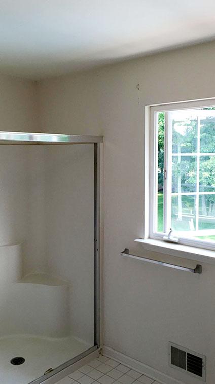 Master Bathroom Shower Before Remodel