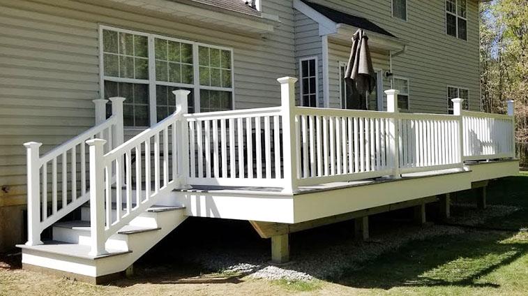 Jackson NJ Trex Deck Installation by Rasinski Construction
