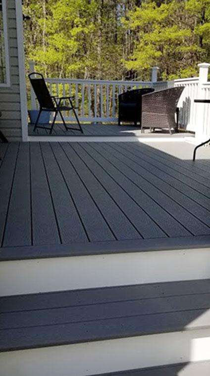 Trex Deck Installation in Ocean County NJ by Rasinski Construction