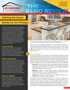 Home Remodeling Tips and Trends Fall 2018 - Reno Review from Rasinski Construction