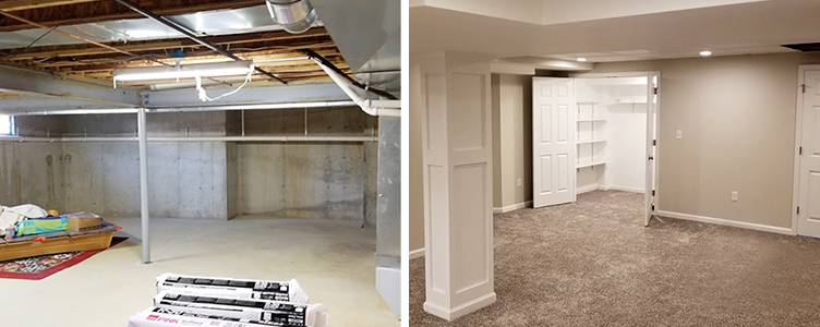 Main Image for Rasinski Construction Basement Living Space Ideas Page
