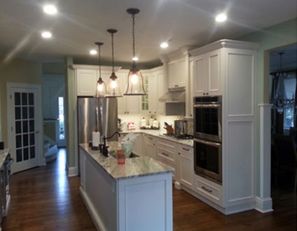 After Kitchen Remodel - The Difference is in the Preparation by Rasinski Construction
