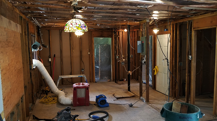 Home in the Middle of a Remodel