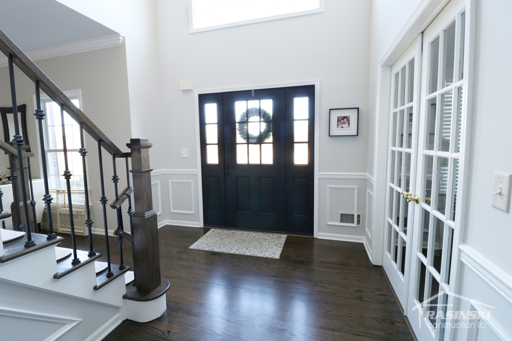entryway remodel in mercer county NJ by Rasinski Construction