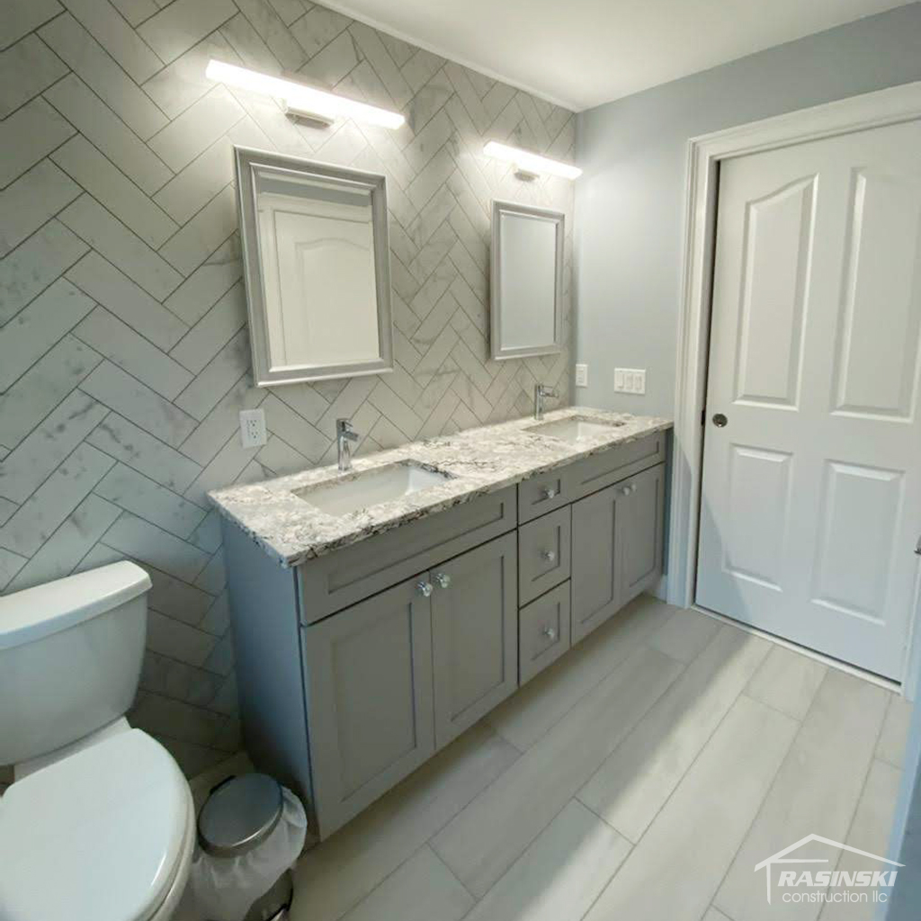 Bathroom Remodel in Ocean County NJ by Rasinski Construction