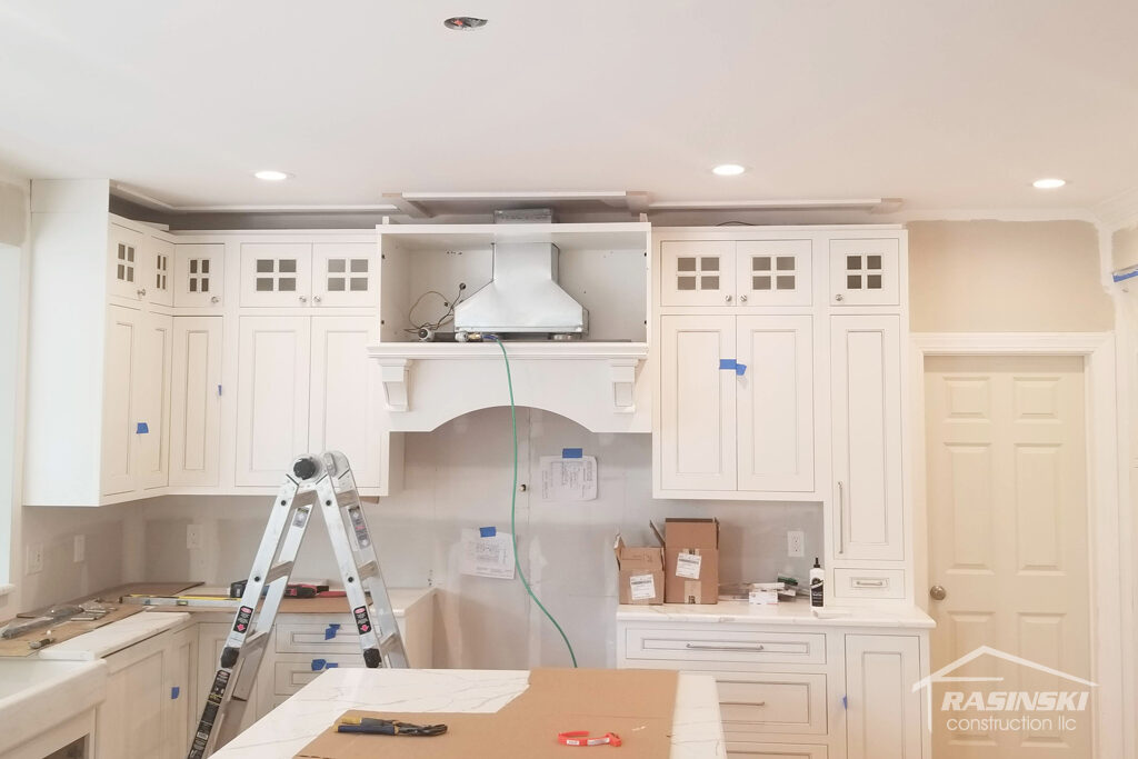 Kitchen Vent Hood in Monmouth County NJ Remodel
